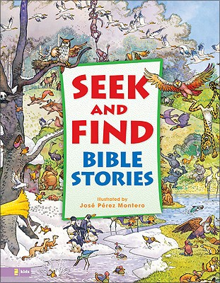 Seek and Find Bible Stories Cover