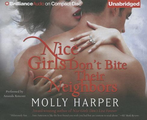 Nice Girls Don't Bite Their Neighbors (Half-Moon Hollow #4) Cover Image