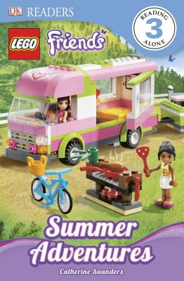 DK Readers L3: LEGO Friends: Summer Adventures (DK Readers Level 3) Cover Image