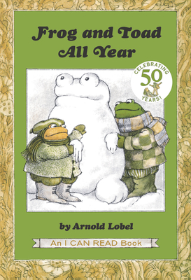 Frog and Toad All Year (I Can Read Level 2) Cover Image