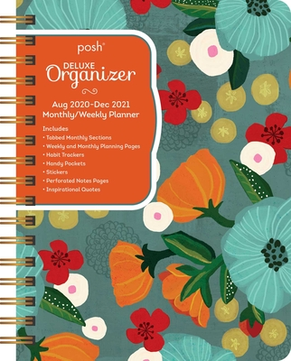 Posh: Deluxe Organizer 17-Month 2020-2021 Monthly/Weekly Planner Calendar: So Much Gratitude Cover Image