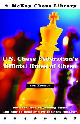 United States Chess Federation's Official Rules of Chess, Fifth Edition Cover
