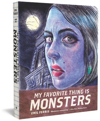 My Favorite Thing Is Monsters Cover Image
