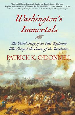 Cover for Washington's Immortals