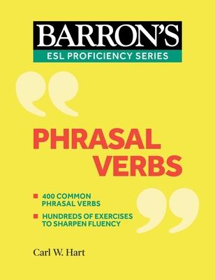 Phrasal Verbs (Barron's ESL Proficiency) Cover Image