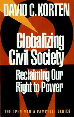 Globalizing Civil Society Cover Image