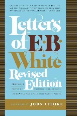 Letters of E. B. White Cover Image