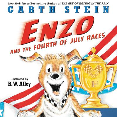 Enzo and the Fourth of July Races Cover Image