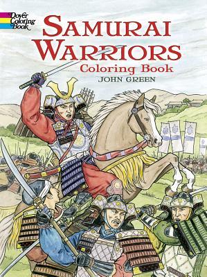 Samurai Warriors: Coloring Book (Dover Coloring Books) Cover Image