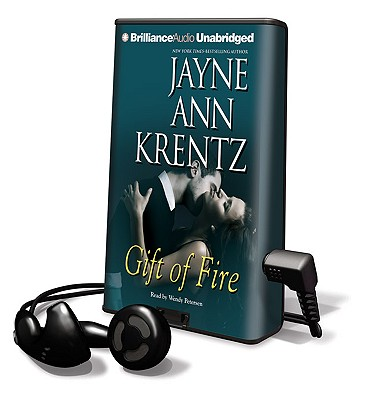 Gift of Fire [With Headphones] (Playaway Adult Fiction) Cover Image