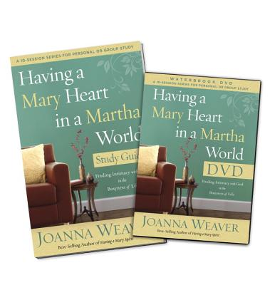 Having a Mary Heart in a Martha World DVD Study Pack Cover