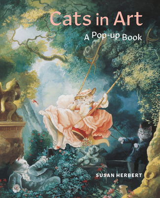 Cats in Art: A Pop-Up Book Cover Image
