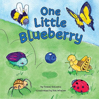 One Little Blueberry Cover