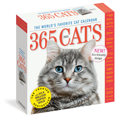 365 Cats Page-A-Day Calendar 2021 Cover Image