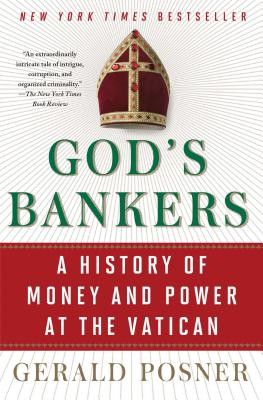 God's Bankers: A History of Money and Power at the Vatican Cover Image