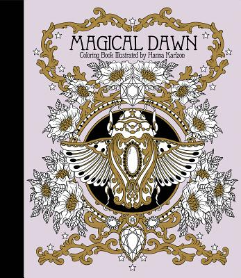 Magical Dawn Coloring Book: Published in Sweden as