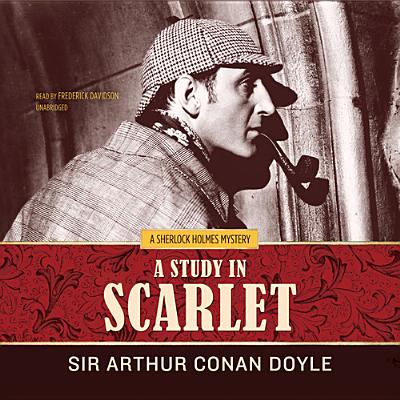 A Study in Scarlet (Sherlock Holmes #1887) Cover Image