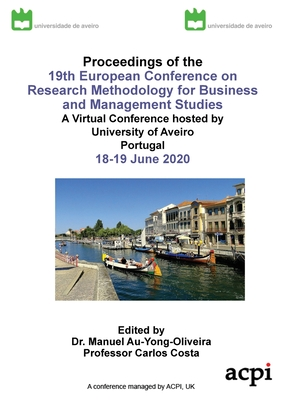 Proceedings of the 17th European Conference on Research Mehods: Ecrm 2020 Cover Image