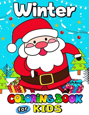 Winter Coloring Book For Kids Merry Christmas Coloring Pages For Kids Paperback Bright Side Bookshop
