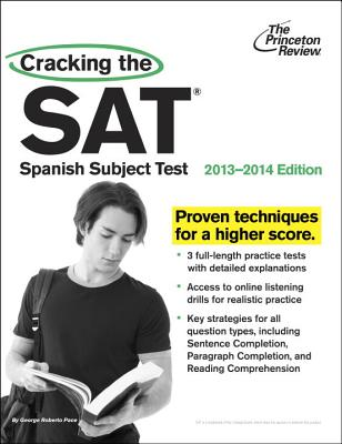 Cracking the SAT Spanish Subject Test Cover