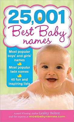 25,001 Best Baby Names Cover Image