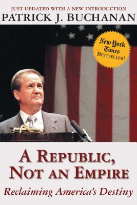 Cover for A Republic, Not an Empire