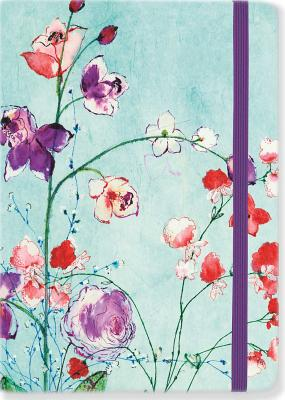 Fuchsia Blooms Journal Cover Image