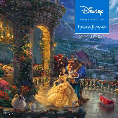 Thomas Kinkade Studios: Disney Dreams Collection 2019 Wall Calendar Cover Image