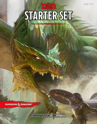 Dungeons & Dragons Starter Set (Six Dice, Five Ready-to-Play D&D Characters With Character Sheets, a Rulebook, and One Adventure): Fantasy Roleplaying Game Starter Set Cover Image