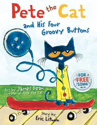 Pete the Cat and His Four Groovy Buttons Cover