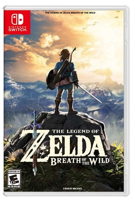The Legend of Zelda Breath of the Wild Cover Image