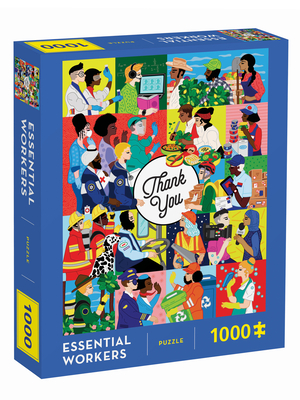 Essential Workers 1000 Piece Puzzle Cover Image