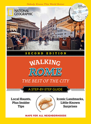 National Geographic Walking Rome Cover
