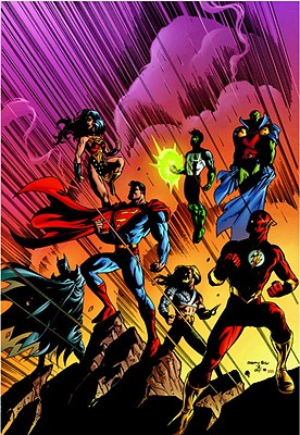 Jla Deluxe Edition Vol. 3 Cover