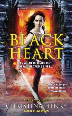 Cover for Black Heart (A Black Wings Novel #6)