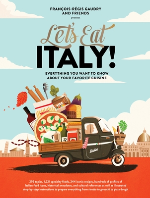 Cover for Let's Eat Italy!