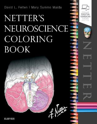 Netter's Neuroscience Coloring Book Cover Image