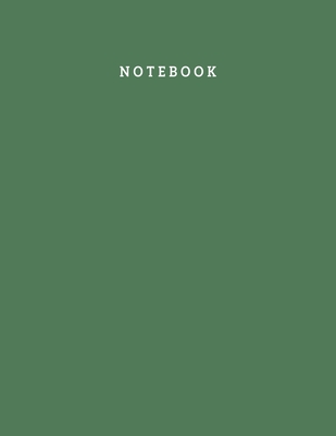 Notebook: White Plain Paper Notebook for Men and Women - 100 Pages 8.5x11 Inch Large Best Unruled Notebook Gift for Men, Unruled Cover Image