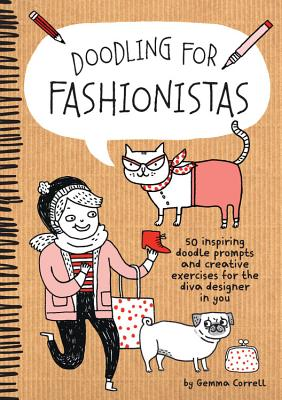 Cover for Doodling for Fashionistas