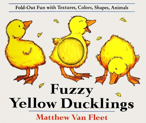 Fuzzy Yellow Ducklings Cover Image