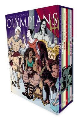Olympians Boxed Set: Zeus, Athena, Hera, Hades, Poseidon & Aphrodite Cover Image