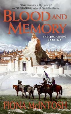 Blood and Memory: The Quickening Book Two Cover Image