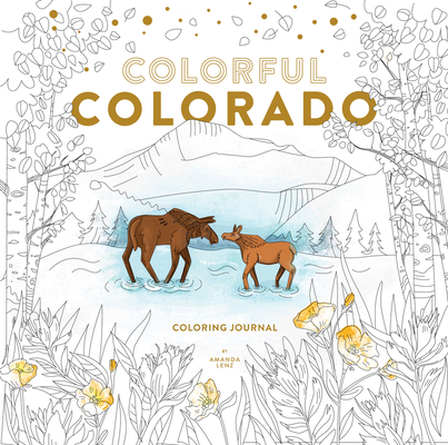Colorful Colorado Coloring Journal Cover Image