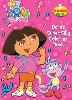 Doras Super Silly Coloring Book Dora The Explorer Cover Image