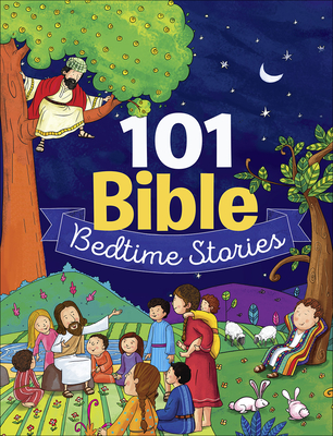 101 Bible Bedtime Stories Cover Image