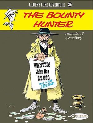 The Bounty Hunter (Lucky Luke Adventures #26) Cover Image