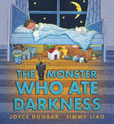 The Monster Who Ate Darkness Cover