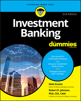 Investment Banking for Dummies Cover Image