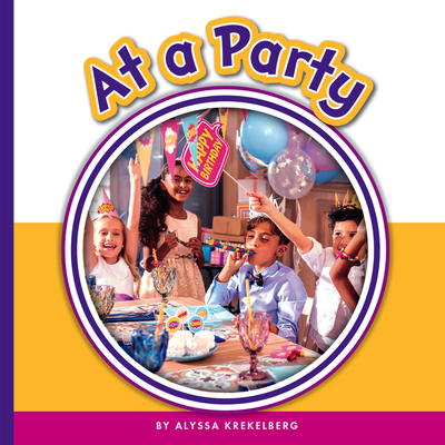 At a Party (Learning Sight Words) Cover Image