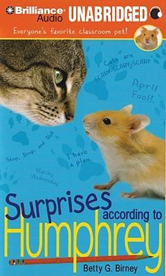 Surprises According to Humphrey (Humphrey (Audio) #4) Cover Image